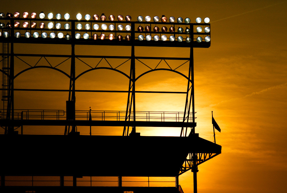 Photograph Wrigley Sunset by Ryan Postel on 500px