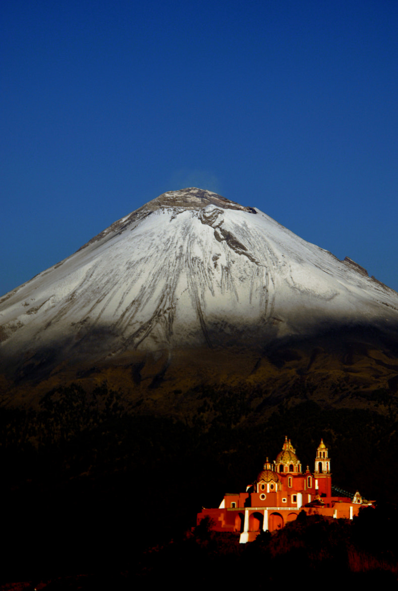 Photograph Volcano with snow by Alfredo Garciaferro Macchia on 500px