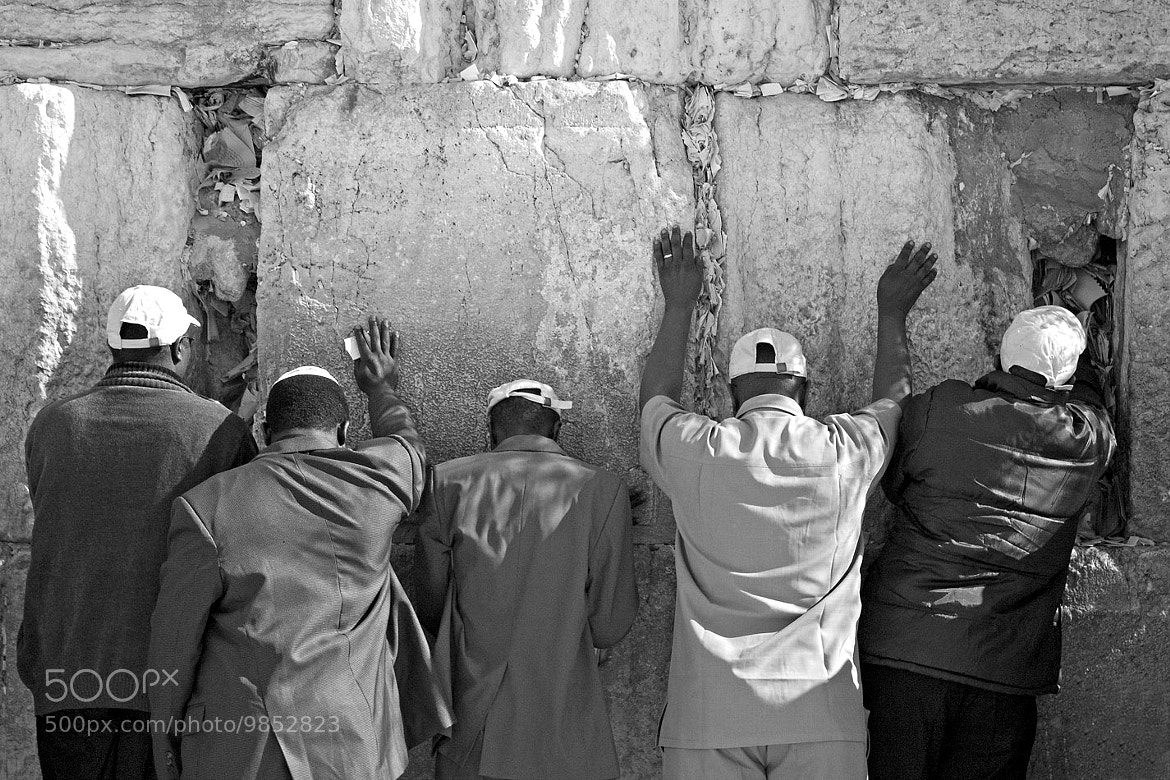 Photograph Wailing Wall by Oded Ben-Raphael on 500px