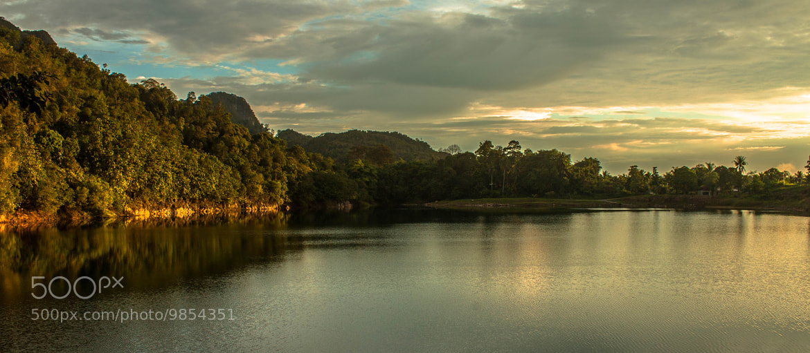 Photograph Scenic sunset over Tasik Biru. by Victor Sim on 500px