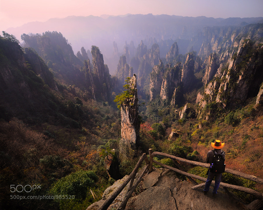 """Photograph Zhangjiajie, the """"Avatar"""" by Weerapong Chaipuck on 500px"""