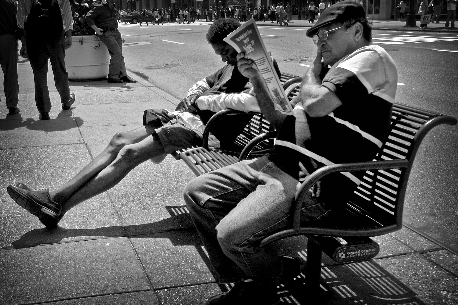 Photograph Benchwarmers by JoeWig on 500px