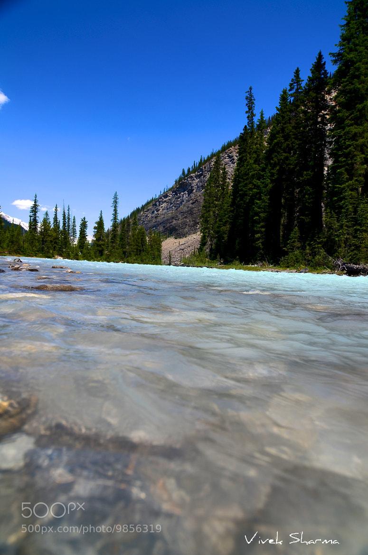 Photograph Yoho River by Vivek Sharma on 500px