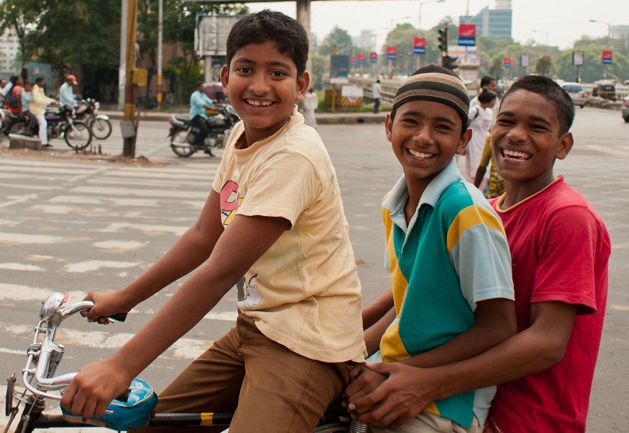 Photograph Three on a bike by Michelle Lee on 500px