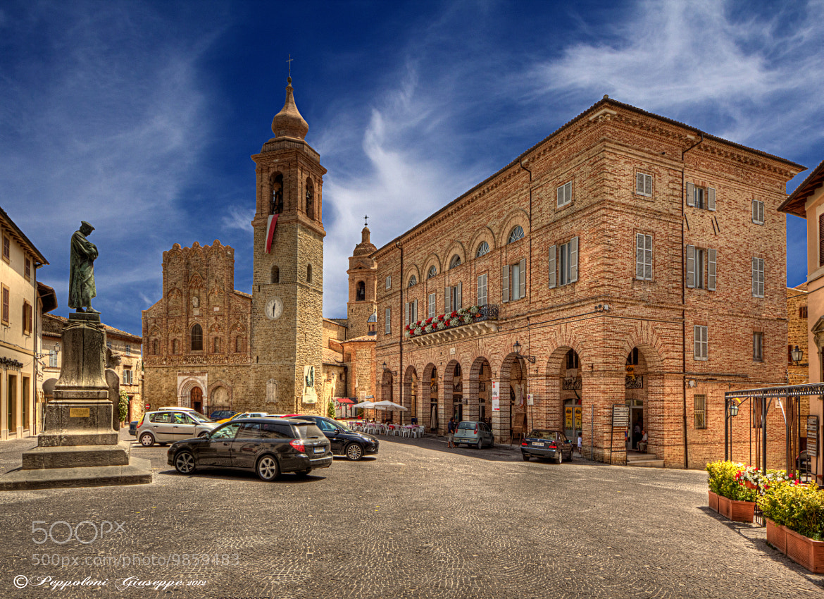 Photograph San Ginesio ♫ (MC) by Giuseppe  Peppoloni on 500px