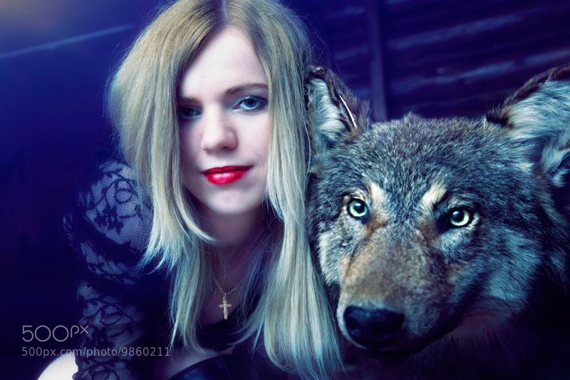Photograph with wolf! by Юрий Мартинкевич on 500px