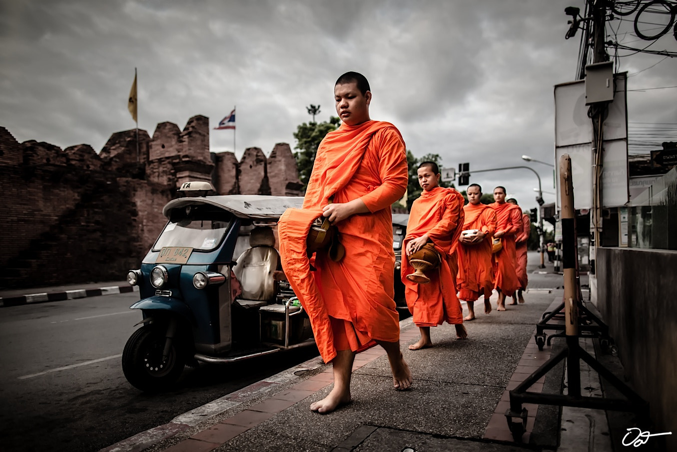 Photograph Monks Morning Alms by Oat Vaiyaboon on 500px