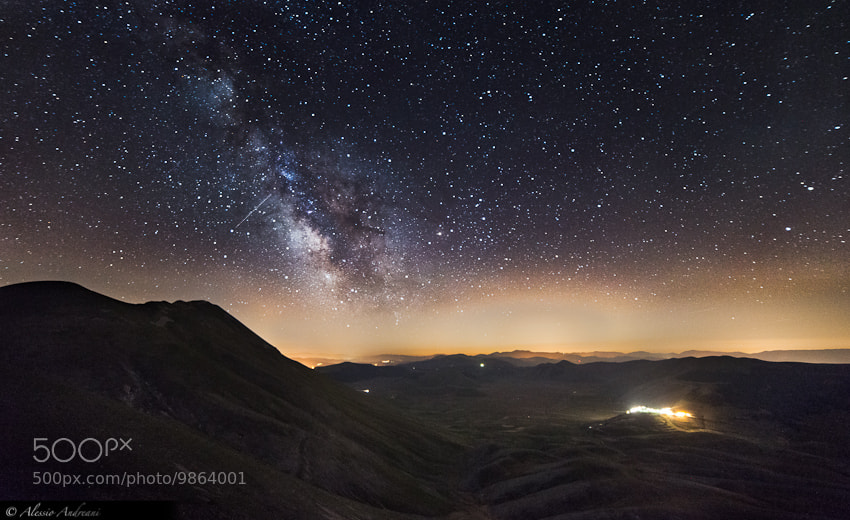 Photograph Viewpoint on the Galaxy by Alessio Andreani on 500px