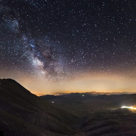 Viewpoint on the Galaxy by Alessio Andreani (AlessioAndreani)) on 500px.com