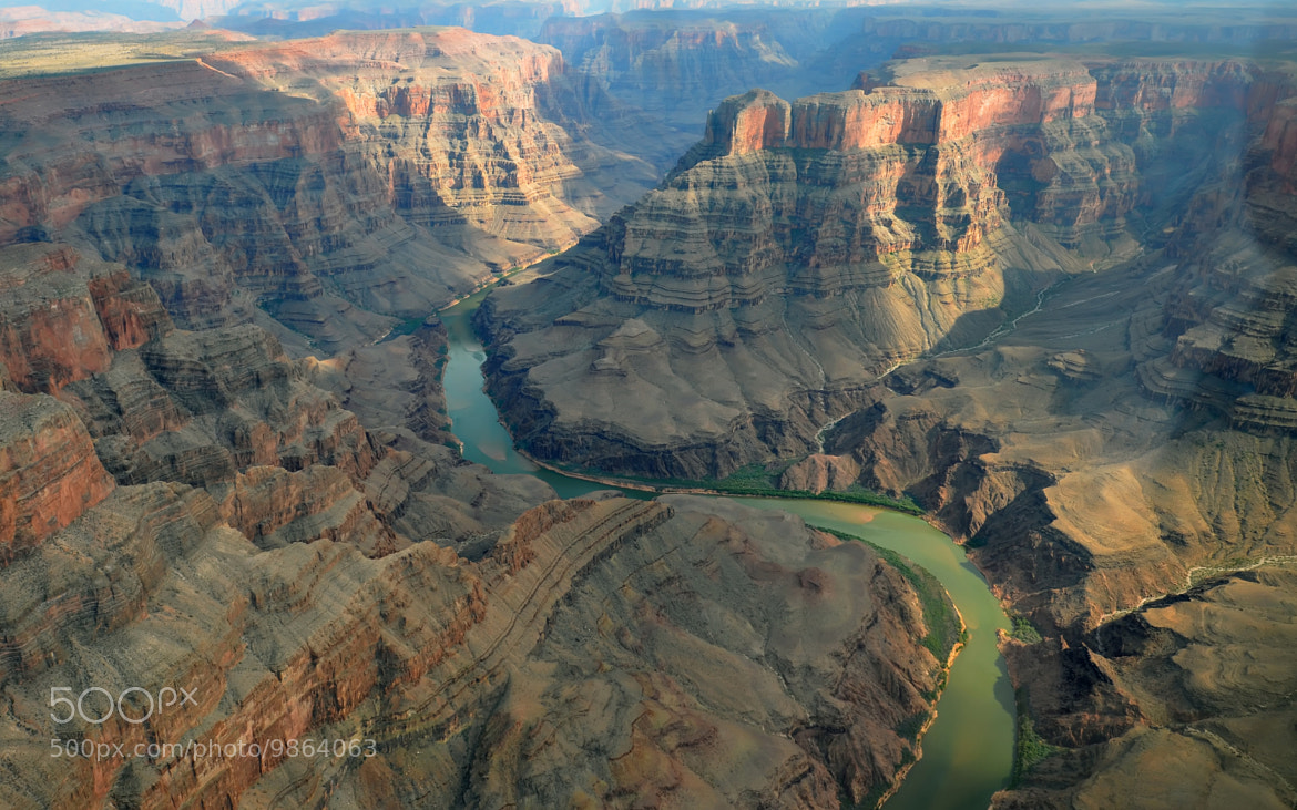 Photograph Grand Canyon from the sky by olivier breuer on 500px