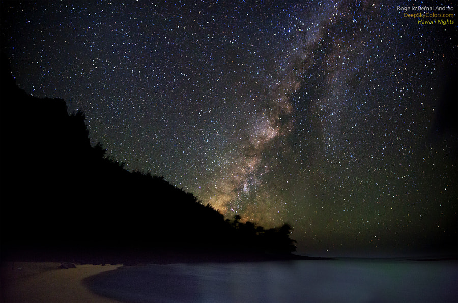 Photograph Magical Ke'e Nights by Rogelio Bernal Andreo on 500px