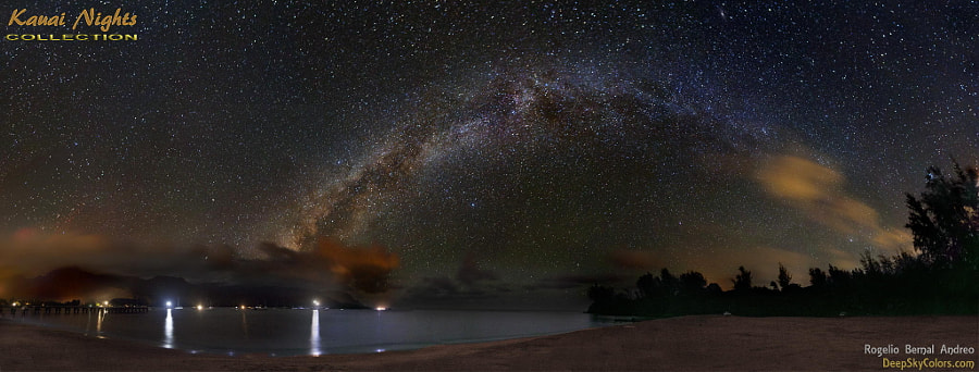 Photograph Hanalei Bay, at night... by Rogelio Bernal Andreo on 500px