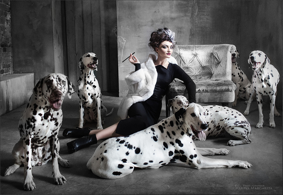 Cruella by Margarita Kareva on 500px.com