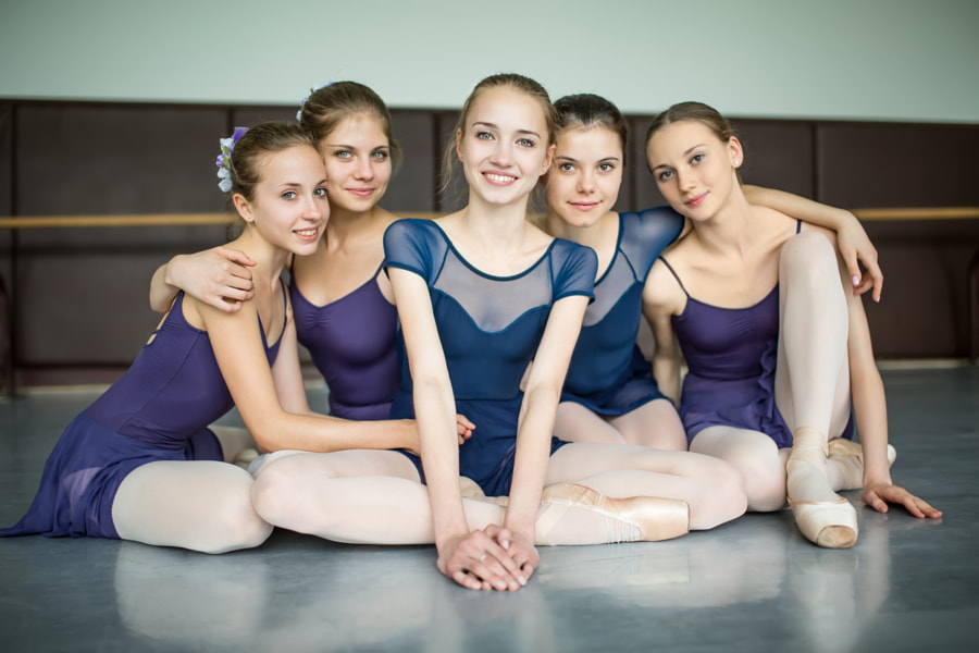 Photograph five ballerinas by Andrey Bezuglov on 500px