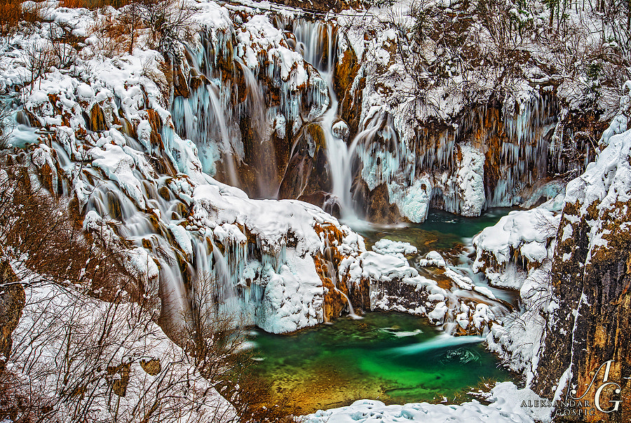 Sastavci waterfall, where the story of Plitvice Lakes ends