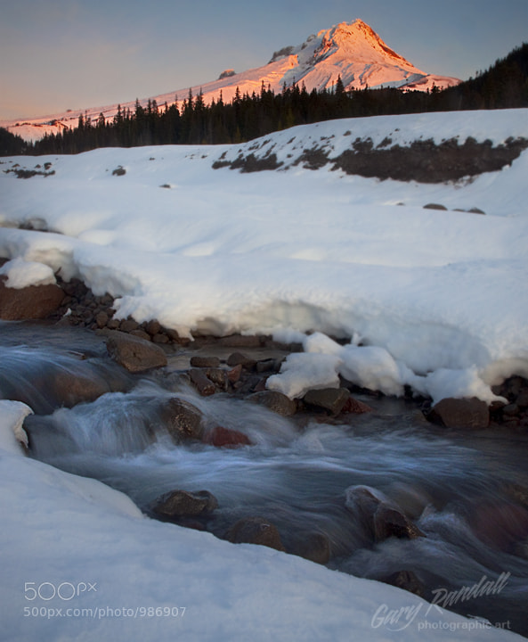 Photograph White River Sunrise by Gary Randall on 500px