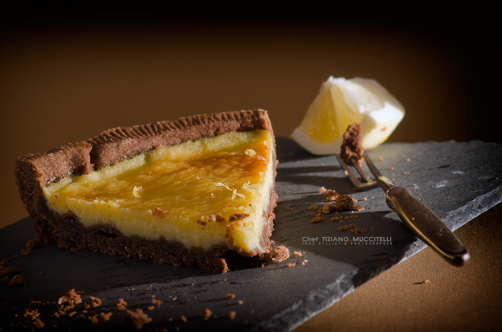 Photograph Lemon chocolate Pie by Chef Tiziano Muccitelli on 500px