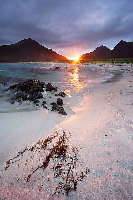 Photograph Lofoten Sunset by Anders Naesset on 500px