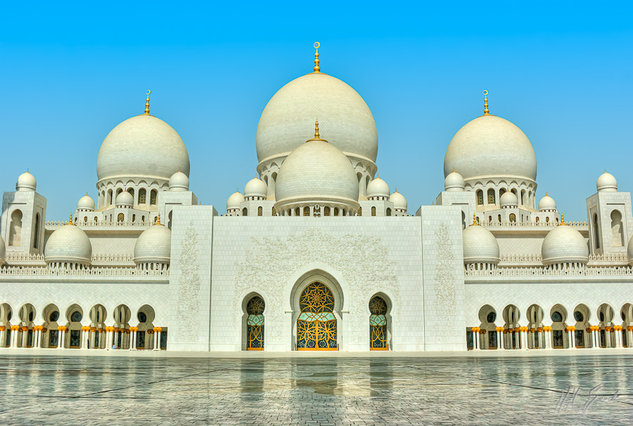 Shaik Zayed Mosque, in HDR