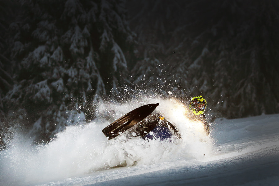Photograph SNOWMOBILE by Adam Kokot on 500px