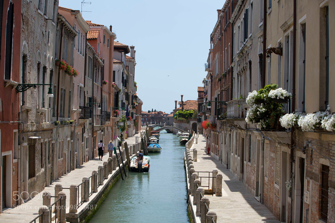 Photograph Residential canal in Venice by Jim Ranes on 500px