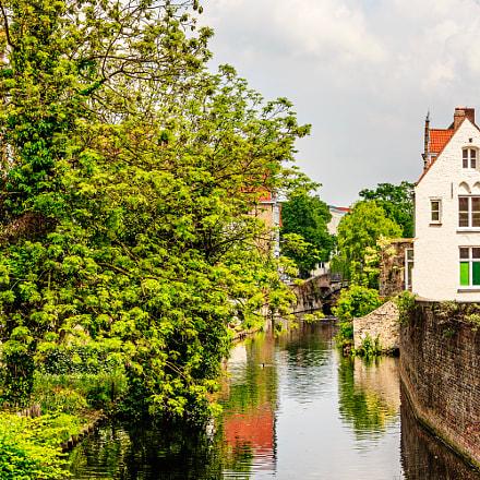 Straatje in Brugge