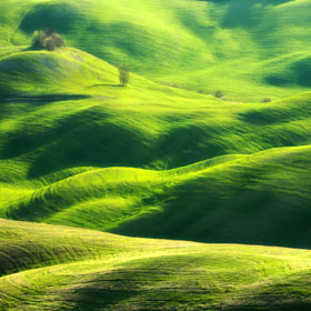 Hills of Volterra by Marcin Sobas (MarcinSobas) on 500px.com