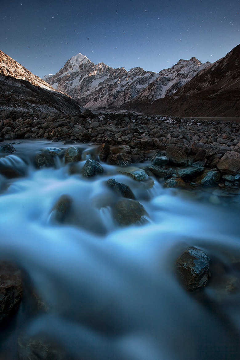 Photograph Mount Cook by Moonlight by Kah Kit Yoong on 500px