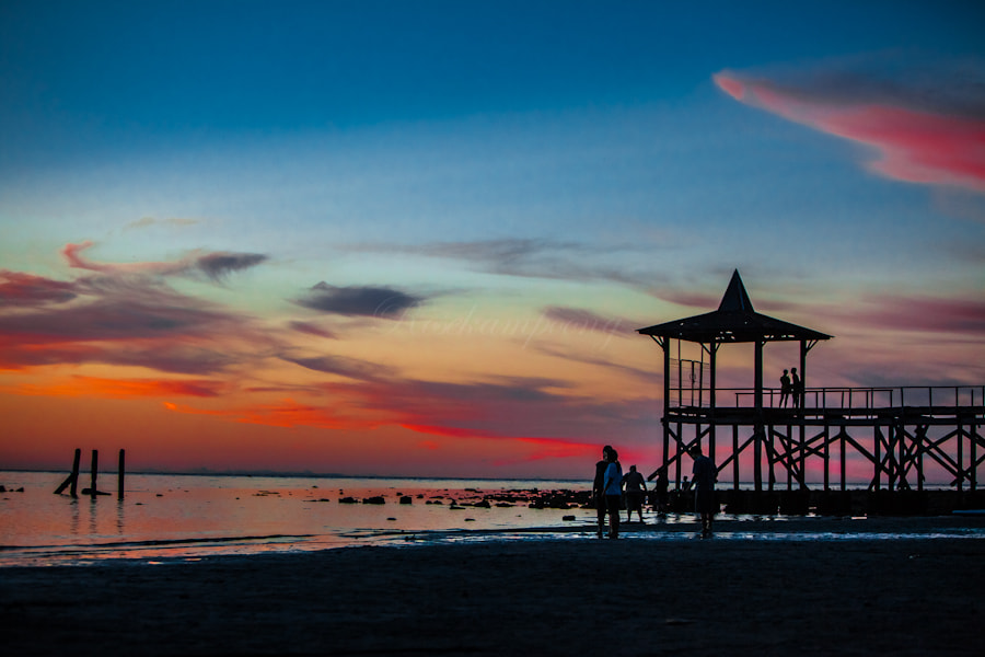 Photograph When The Sun Goes Down by Rose Kampoong on 500px