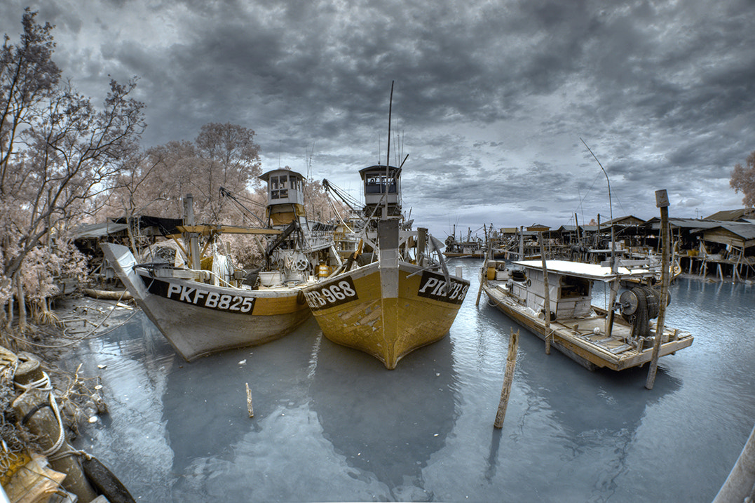 Photograph Fish village by Stanley Chan on 500px