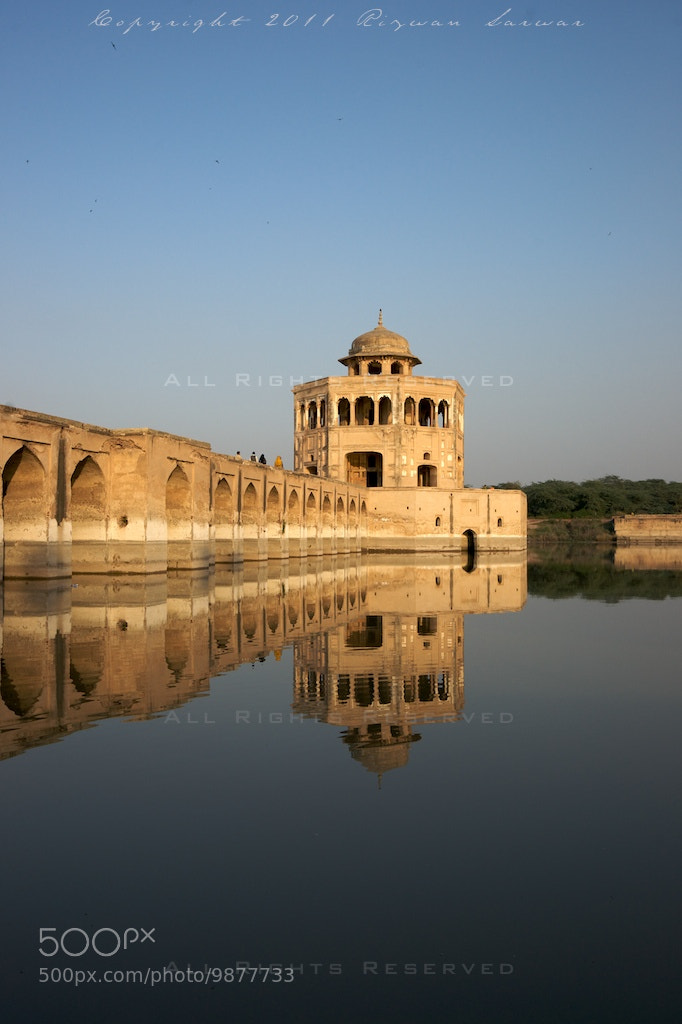 Photograph Hiran Minar Reflections by Rizwan Sarwar on 500px