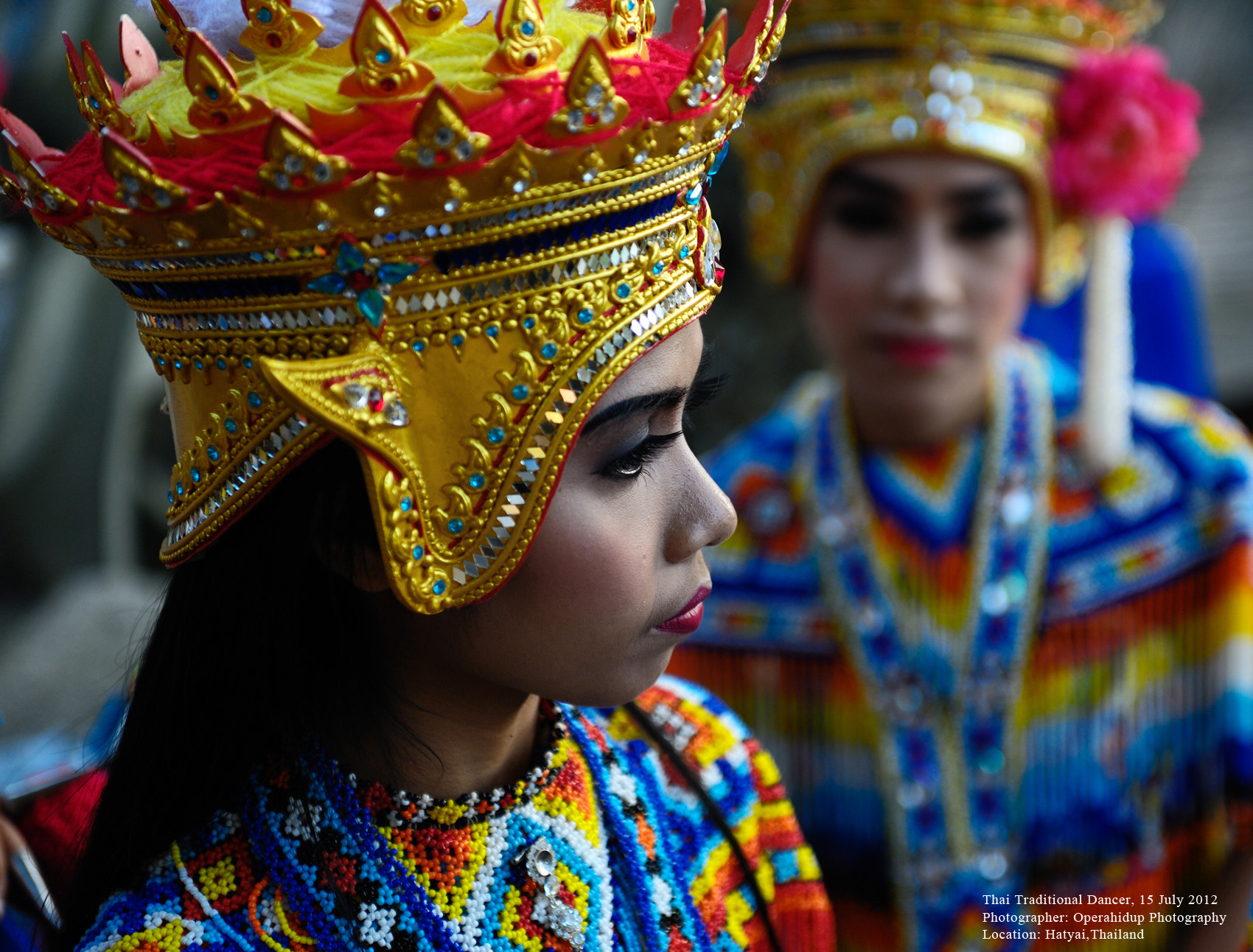 Photograph Traditional Thai Dancer by OPERAHIDUP PHOTOGRAPHY on 500px