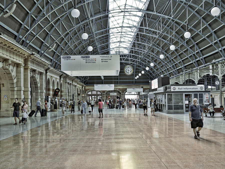 Photograph Central Station by Des Paroz on 500px