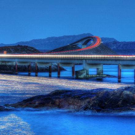 Night at Atlantic Road