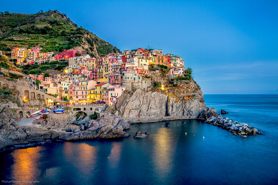 Photograph Manarola by Manuel Becker on 500px