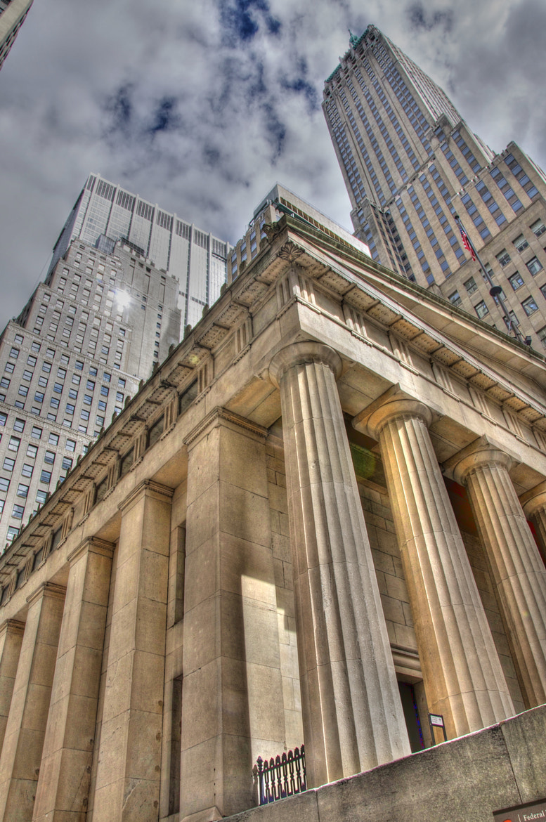 Photograph Wall street. NYC, USA by Federico Robertazzi on 500px