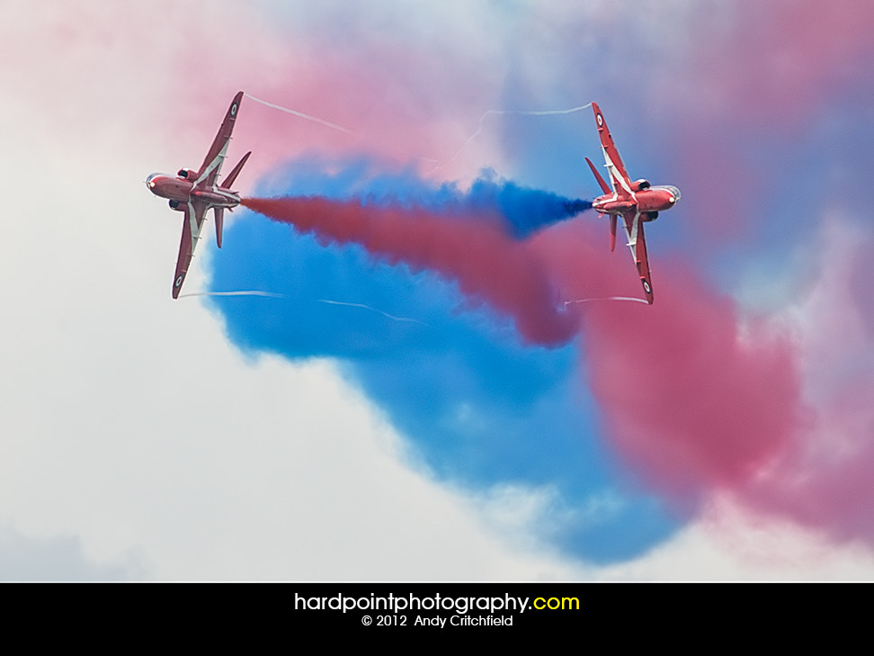 Photograph The Red Arrows by Hardpoint Photography on 500px