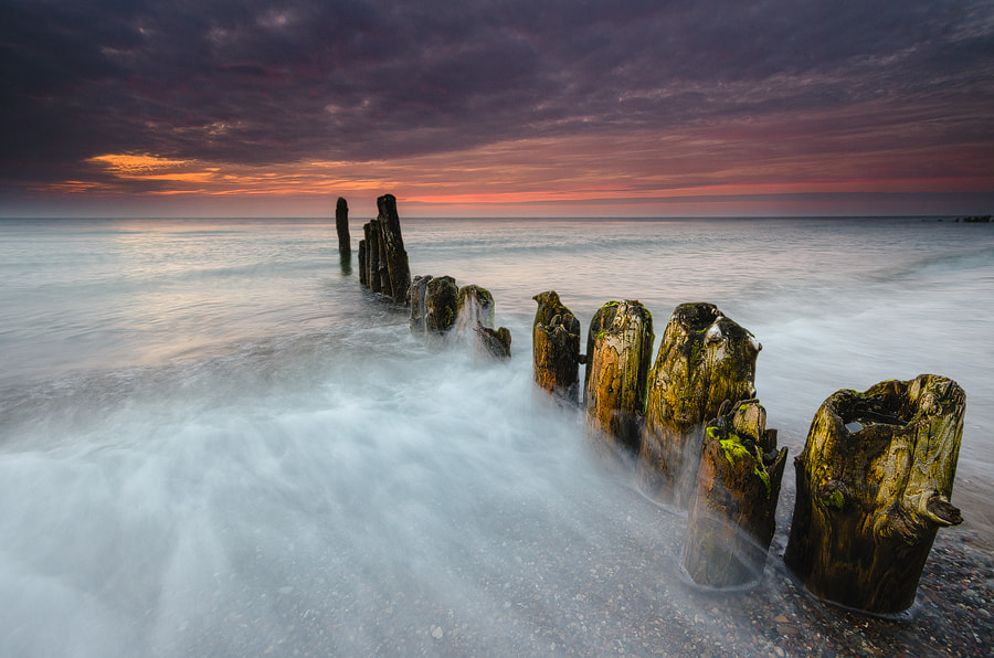 Photograph Old groynes and sea by Dietrich Bojko on 500px