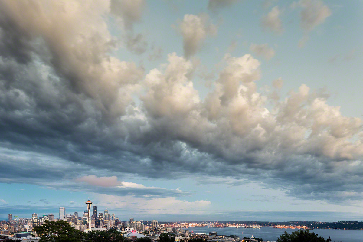 Photograph Seattle Cloudscape by Nicole S. Young on 500px