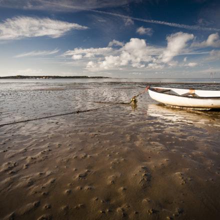 Boat In Tidal Flats