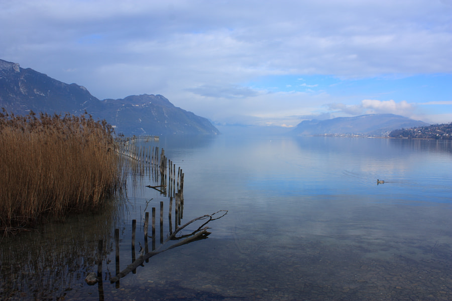 Photograph The lake of Bourget by Guillaume Duigou on 500px