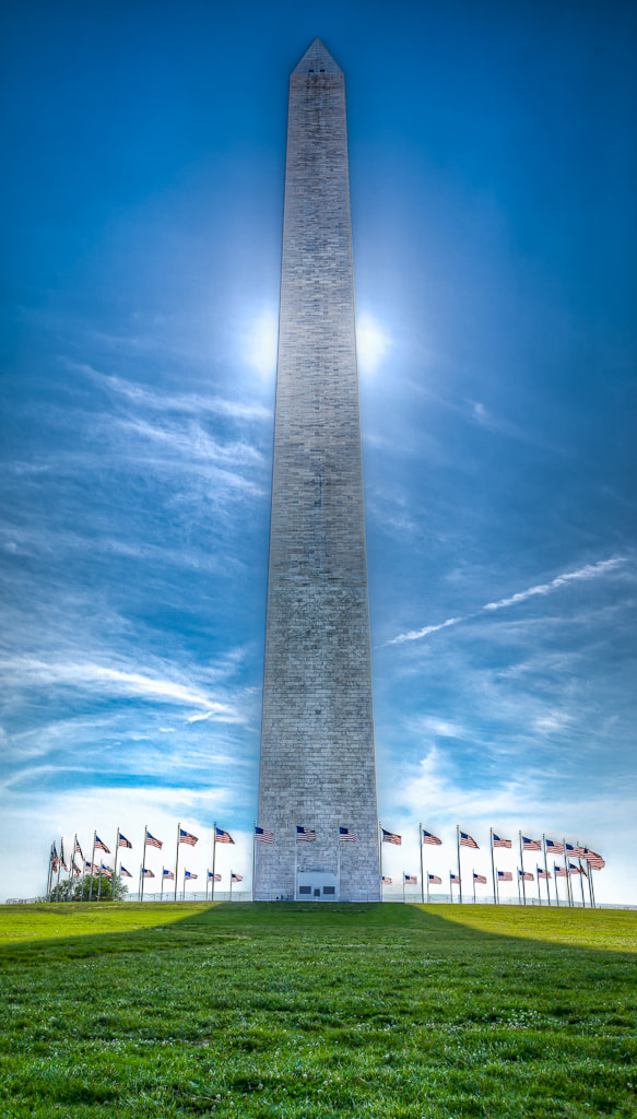 Photograph The Washington Monument by  W Brian Duncan on 500px