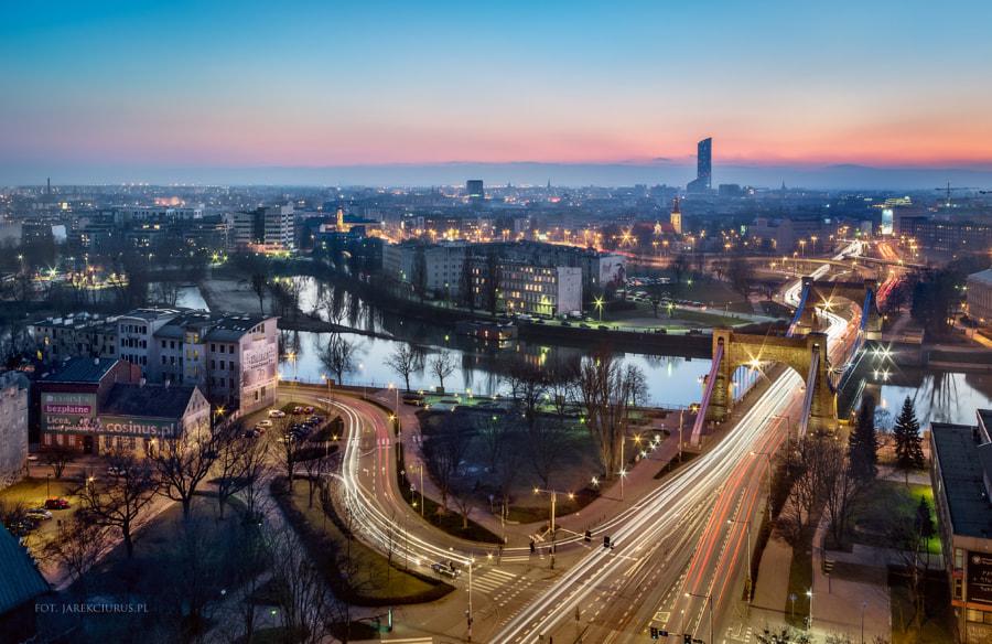 Wroclaw at twilight