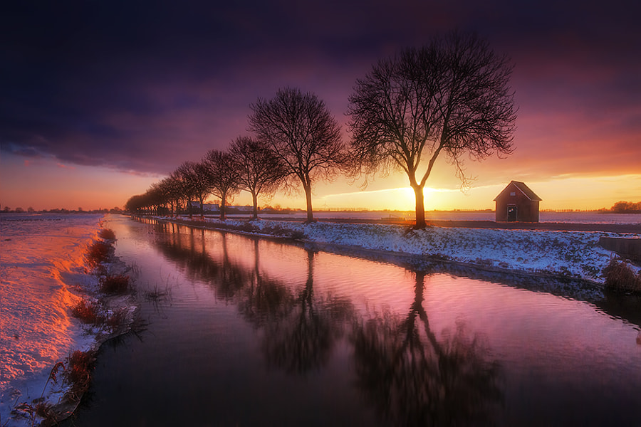 Photograph Dutch winter colors by Iván Maigua on 500px
