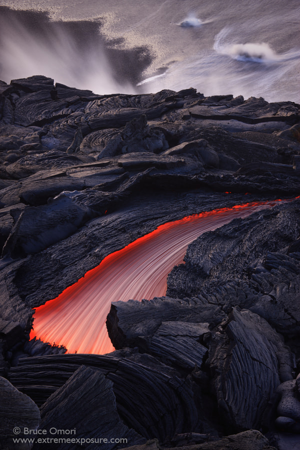 Lava Swoosh by Bruce Omori on 500px.com