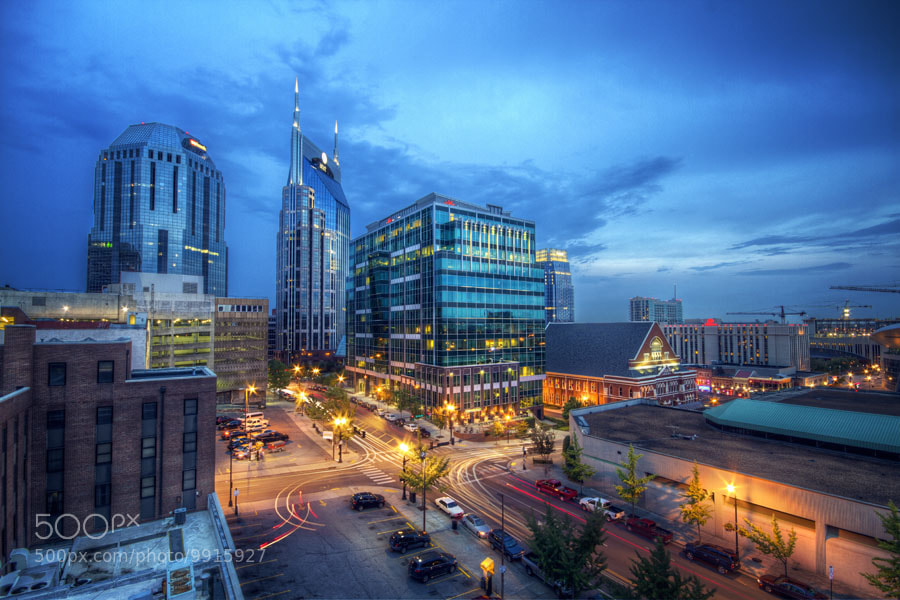 Photograph Nashville at Night by Malcolm MacGregor on 500px