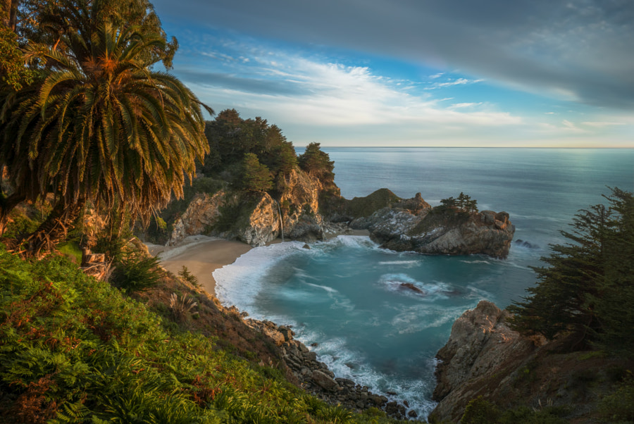 Photograph The McWay Bay at Sunset (California) by Viktor Elizarov on 500px