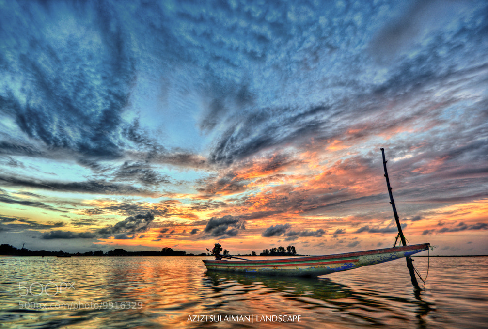 Photograph Lonely Boat by Azizi Sulaiman on 500px