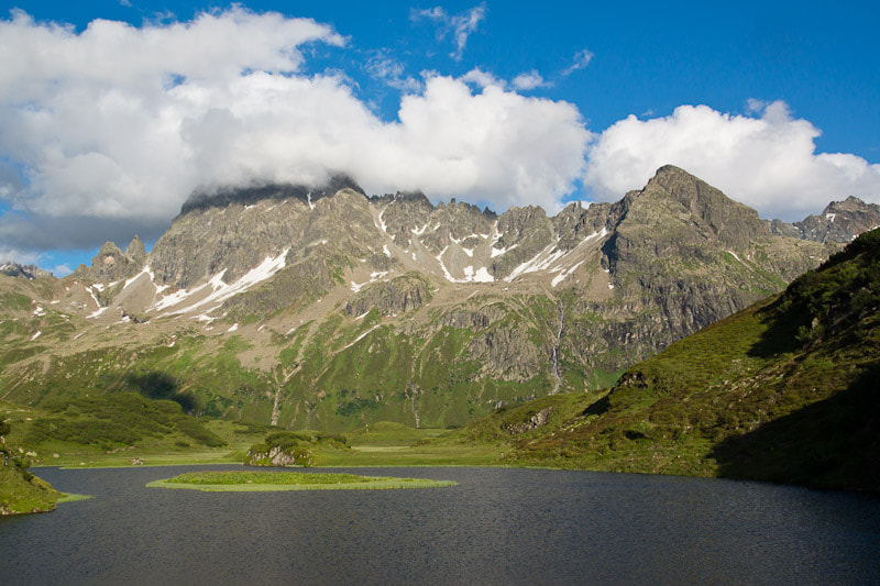 Photograph Mountain Lake in Austria by Johannes Netzer on 500px