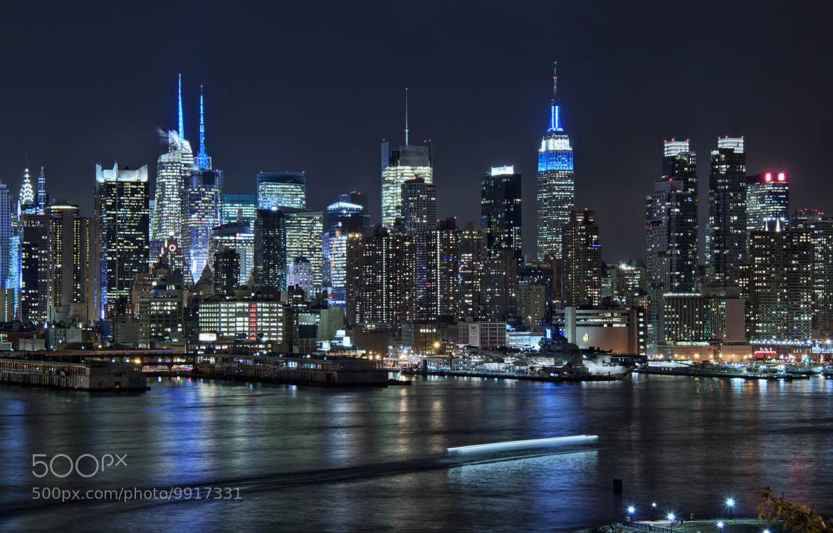 Photograph Blue Manhattan by Danilo Faria on 500px